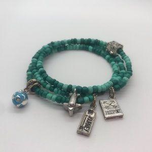 Travel the World! Wrap Bangle Bracelet